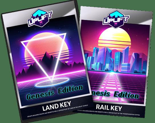 Uplift World Land Keys and Rail Keys